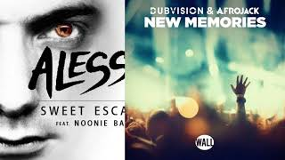 DubVision Ft Afrojack vs Alesso - Sweet New Memories (Alesso Mashup)