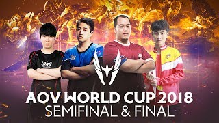 AOV World Cup (AWC) Semifinal - Live from Los Angeles - Garena AOV (Arena of Valor)