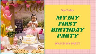 How To Decorate & Style A First Birthday Party | DIY  Event Styling | Themed Party | Twinkle Twinkle