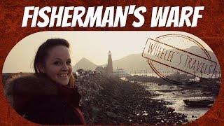 preview picture of video 'Climbing on Boats in Fisherman's Warf | Dalian, China | Wheelee's Travels'