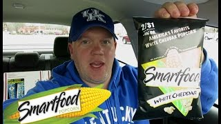 Reed Reviews Smartfood White Cheddar Cheese Popcorn - Video Youtube