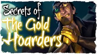 SECRETS OF THE GOLD HOARDERS // SEA OF THIEVES - Possible hint to Cursed Sails?