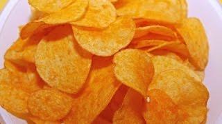 Смотреть онлайн Как сделать картофельные чипсы в домашних условиях