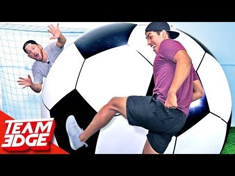 GIANT Soccer Challenge!!