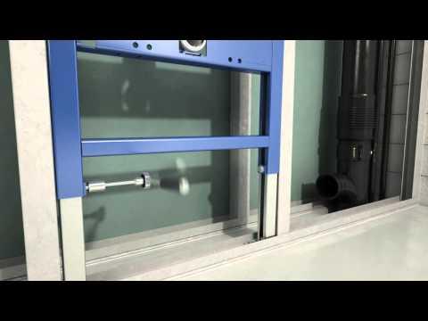 Монтаж 458 160 UP182 Installation Dry Wall v05