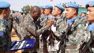 Chinese Peacekeepers In Sudan Awarded UN Peace Medal Of Honor