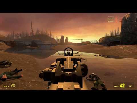 GMOD - SHOWCASE - Call Of Duty Black Ops III Weapons - смотреть