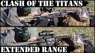 Clash Of Titans 5 Vepr AK47 Vs DD AR15  Extended Range Shooting