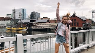Пошли смотреть Бостон + покупаем одежду! Гарвард влог 18 августа 2018