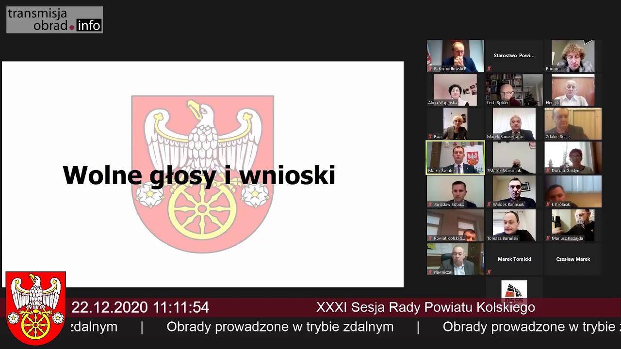 Zdjęcie do XXXIV sesja Rady Powiatu Kolskiego !!!