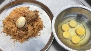 Have you Tried This omelette - Biryani Stuffed omelette