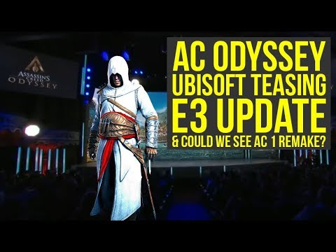 Assassin's Creed Odyssey DLC - Ubisoft Teasing E3 Update & Is This An AC 1 Remake Hint? (AC Odyssey)