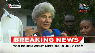 Tycoon Tob Cohen's sister accuses Wairimu of his murder, congratulates DCI