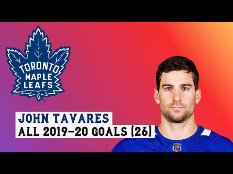 John Tavares (#91) All 26 Goals of the 2019-20 NHL Season