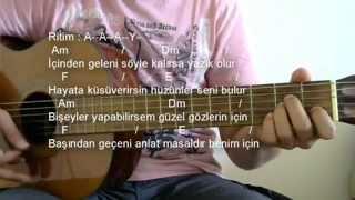 Gitar Dersi - Hele Bi Gel (Pinhani)