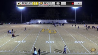 Prairie Grove (56) vs Pottsville (21) 2017