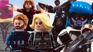 LEGO Avengers Infinity War: Team Cap vs Black Order