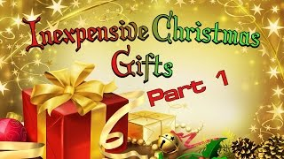 Inexpensive Christmas Gift Ideas For Neighbors Or Co-Workers - PART 1