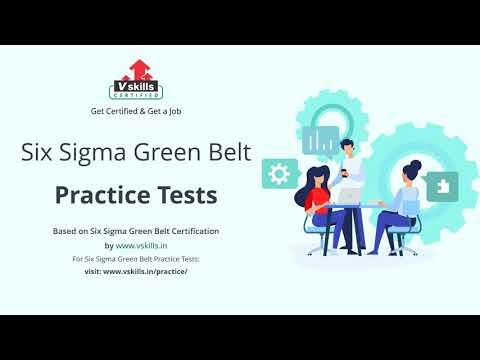Six Sigma Green Belt Practice Questions - YouTube