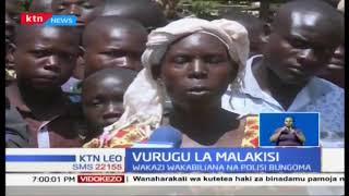 Vurugu la Malakisi: Wakazi wakabiliana na polisi Bungoma baada ya mauaji ya watu wawili
