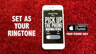 Pick up the Phone (Marimba Remix of Travis Scott, Young Thug)