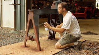 Diamond in the Rough! Restoring an Antique Wood Lathe