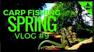 CARP FISHING IN SPRING   FISHING THE PARK LAKE   VLOG #9 😀
