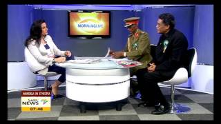 Mandela in Ethopia