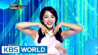 Gugudan (구구단) - Diary(일기) / Wonderland [Music Bank HOT Stage / 2016.07.01]