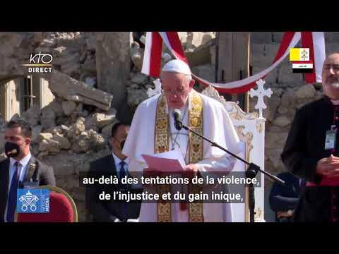 Prière du pape François pour les victimes de la guerre à Mossoul