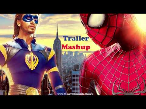 Download A Flying Jatt | The Amazing Spider-man | Trailer Mashup HD Mp4 3GP Video and MP3