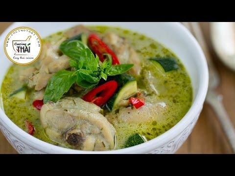 Curry verde con pollo - Curry Tailandés (Thai green curry)