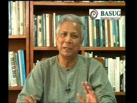 Nobel Peace Prize Winner Professor Mohammad Yunus message for BASUG