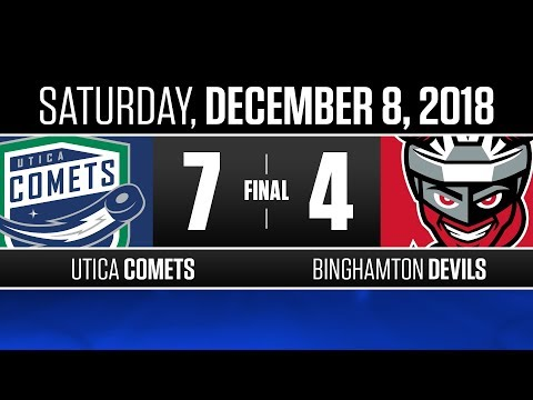 Comets vs. Devils | Dec. 8, 2018