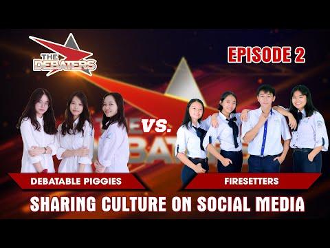 The Debaters Tập 2 | Văn hóa chia sẻ trên mạng xã hội | Debatable Piggies vs Firesetters