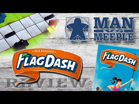 Flag Dash Review by Man Vs Meeple