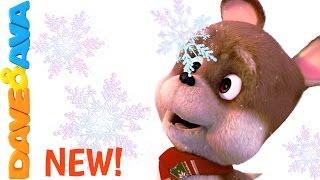 Ten Little Snowflakes | Winter Song for Kids |Christmas Songs