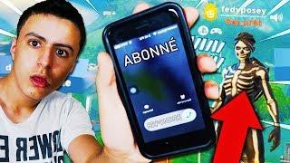 """Il a trouvé mon """"VRAI"""" numéro de téléphone, alors je suis allé lui parler sur Fortnite..."""
