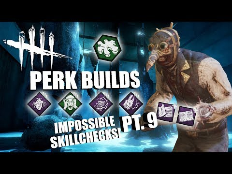 IMPOSSIBLE SKILLCHECKS! PT. 9 | Dead By Daylight THE DOCTOR PERK BUILDS
