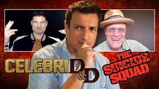 CelebriD&D with The Suicide Squad's Nathan Fillion, Michael Rooker, & Flula Borg