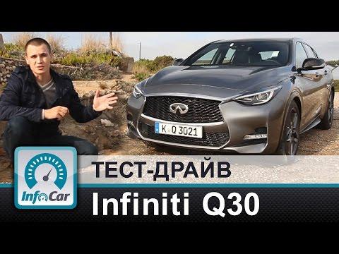 Infiniti  Q30 Хетчбек класса C - тест-драйв 1