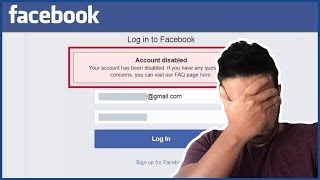 How To Recover a Disabled Facebook Account / Profile