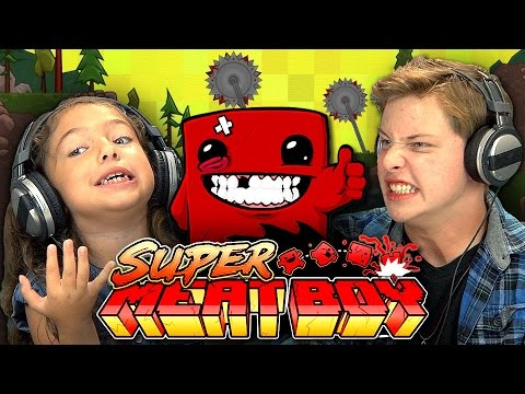 Watching Kids Rage Quit Super Meat Boy Is The Best