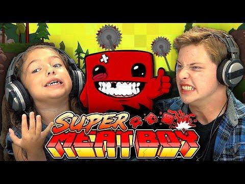 Watching Kids Rage Quit Super Meat Boy Is The Best