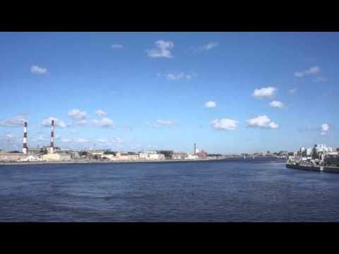 Летний Санкт-Петербупг.Синопская набереж