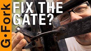 Buy A Welder, Fix The Gate, Learn Stuff.