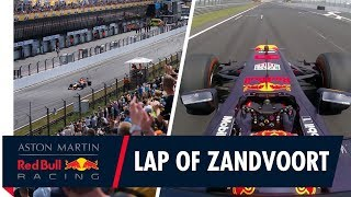 Take A Lap Of Zandvoort | Jump On Board With Max Verstappen Around Circuit Zandvoort