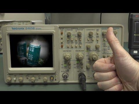 EEVblog #1203 - REPAIR: Tektronix 2465B Oscilloscope