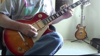 KISS - DEUCE - ALIVE! cover - ACE FREHLEY GIBSON LES PAUL BUDOKAN