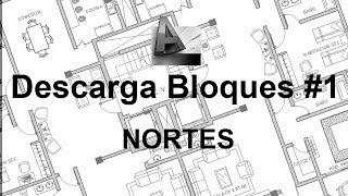Descarga Bloques Para AutoCAD: Nortes